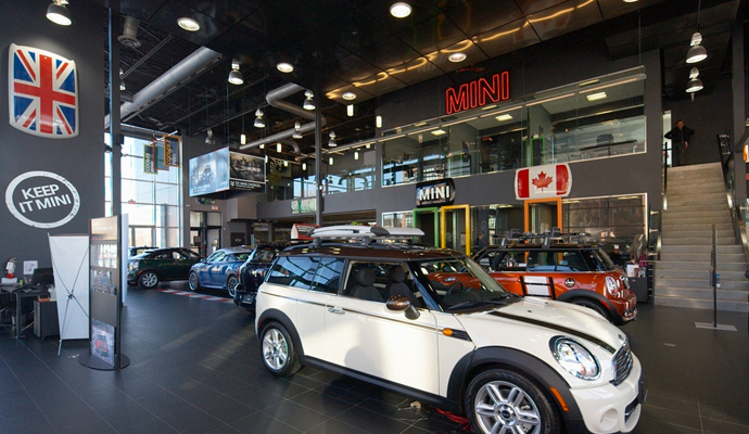 Bmw Downtown Mini 11 Sunlight Park Road Toronto Vr Mechanical